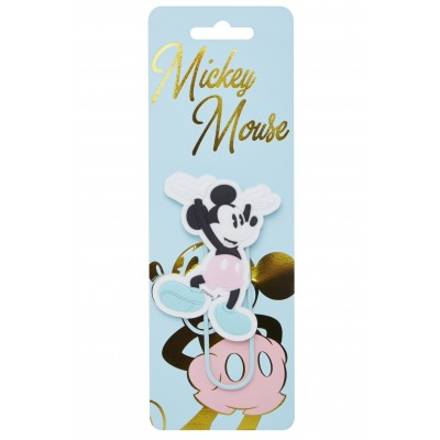 Clip Jumbo 10 cm Mickey Mouse con forma Mooving