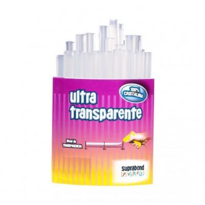 Barra adhesiva 1,12 x10 cm Ultra Transparente bolsa 10 unidades (aprox) Suprabond