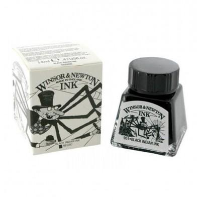 Tinta para Dibujo (030) NEGRO x14 ml Winsor & Newton