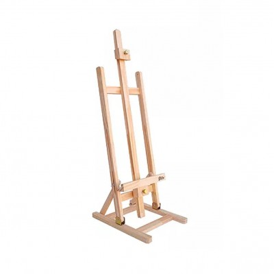 Atril de pintor vertical de mesa pino sin lustrar (chico) Fime