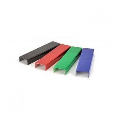 Broche de colores para abrochadora Nº10 caja x1000 unidades Kangaro