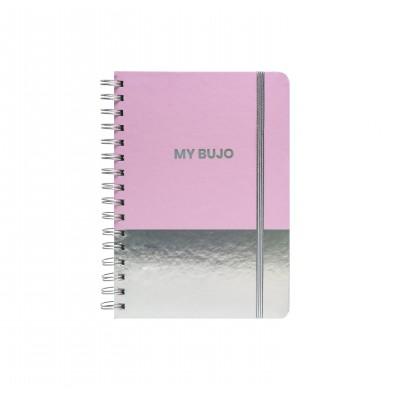 Cuaderno Espiralado A5 Bullet Journal Holo I x80 hojas punteadas Mooving