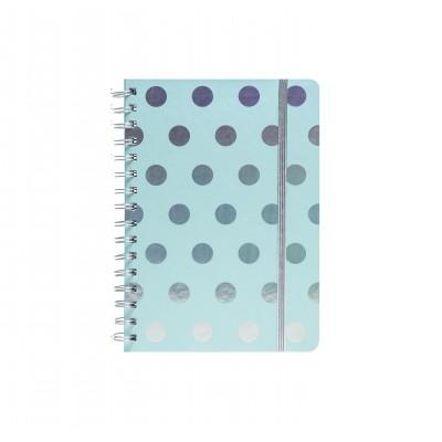 Cuaderno Espiralado A5 Cool Dots x80 hojas rayadas Mooving