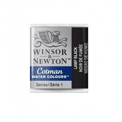 Acuarela Cotman Negro de Humo xhp (medio pan) Winsor & Newton