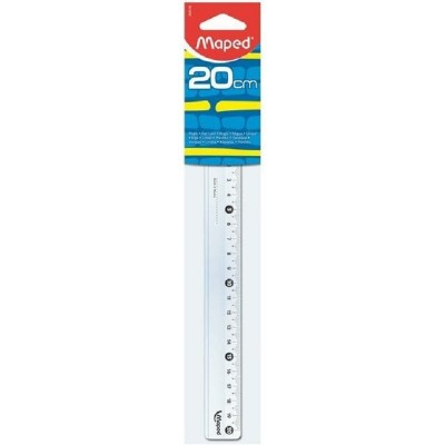 Regla 20cm blister Maped