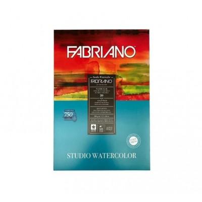 Block Acuarela 23x32 cm Watercolor de 200 gramoss x20 hojas Fabriano