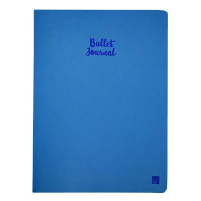 Cuaderno Bullet Journal XL 19x25 cm Azul x60 hojas punteadas Citanova