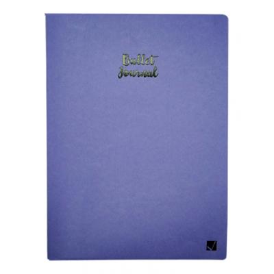 Cuaderno Bullet Journal XL 19x25 cm Lila x60 hojas punteadas Citanova