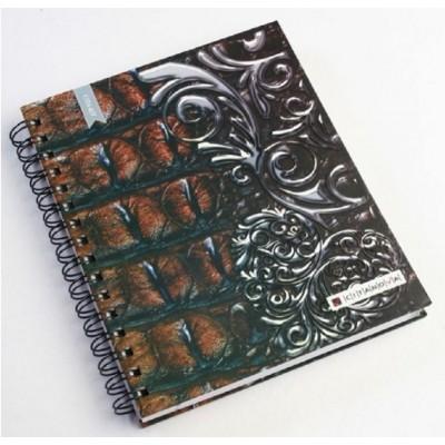 Cuaderno con espiral Esquela Crocco tapas duras x120 hojas rayadas Citanova