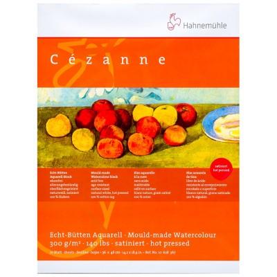 Block Acuarela 36x48 cm Cezanne 100% Algodon Grano Satinado de 300 gramos x10 hojas Hahnemühles Hahnemühle