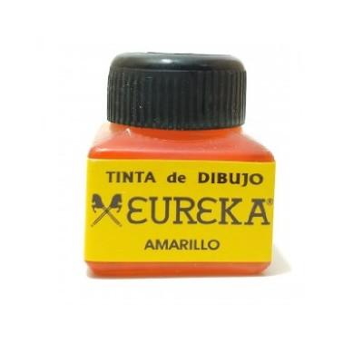 Tinta para Dibujo Profesional Amarillo (01) x15 cc Eureka