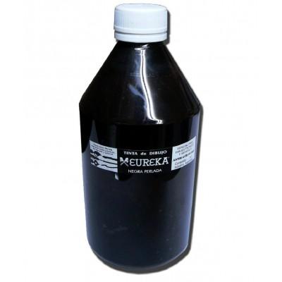 Tinta China Negra Perlada x500 cc Eureka