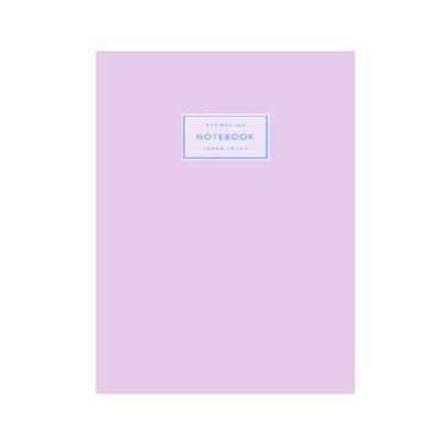 Cuaderno Acaballado 14x21 cm Lila Pastel x80 hojas rayadas Do Decorline