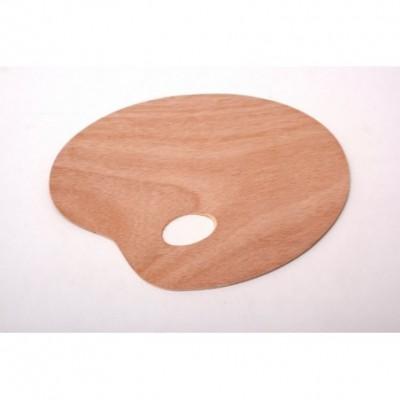 Paleta de madera 25x30 cm espesor 3mm StationeryImag