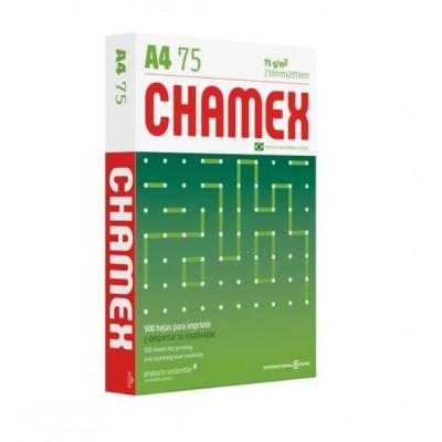 Resmas Papel A4 x500 hojas de 75 grs Chamex