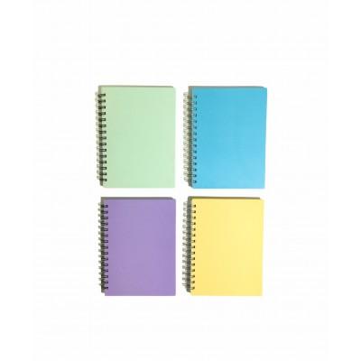 Cuaderno con Espiral Tapa Dura A5 x96Hjs PUNTEADAS Paperland