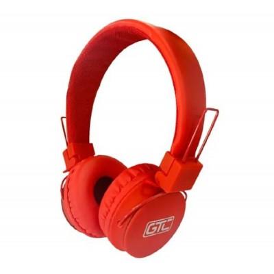 Auricular Bluetooth 5.0 Rojo GTC