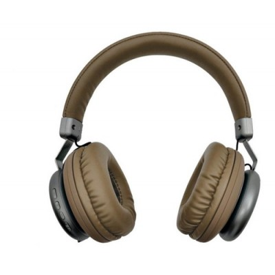 Auricular Bluetooth Beige & Plateado Vintage Style GTC