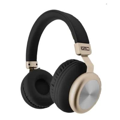 Auricular Bluetooth Negro & Dorado Vintage Style GTC