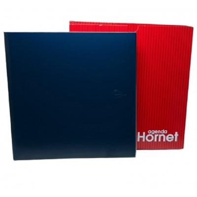 Agenda Semanal Hornet azul sin canto dorado indice fijo Morgan