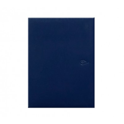 Agenda Semanal Span 223 azul encuadernada Morgan