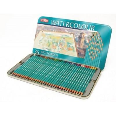 Lapiz Watercolor lata x 36 unidades Derwent