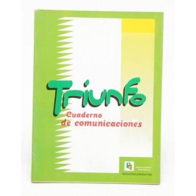 Cuaderno comunicaciones Triunfo