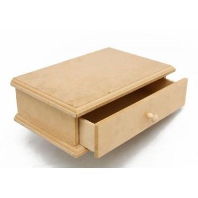 Caja alhajero 1 cajón 19,5x6x13cm El Tigre