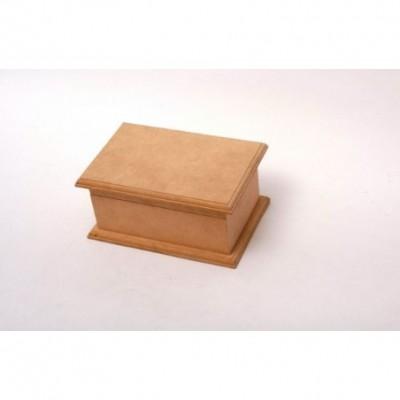 Caja de té Eco 2 Div. 12x14x8,5cm El Tigre