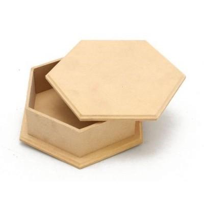 Caja hexagonal grande 7x6cm El Tigre