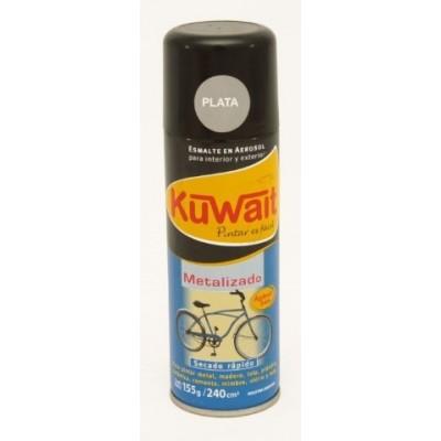 Esmalte Sintético en Aerosol metal PLATA x240 cc Kuwait