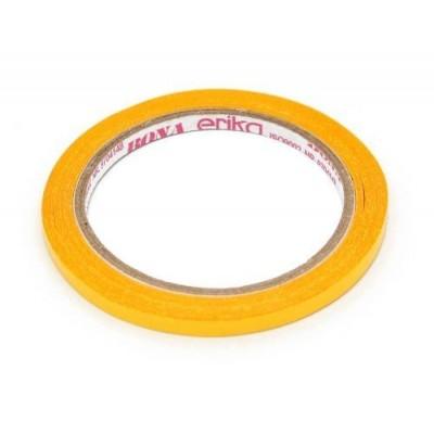 Cinta Adhesiva Bona DOBLE FAZ amarilla 6 mm x15 metros Erika