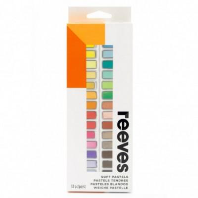Pastel tiza cortos x32 colores Reeves