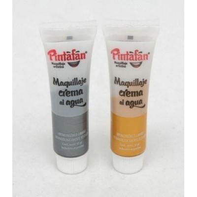 Pintura maquillaje pomo x 10 grs Pintafan Metalizado