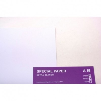 Hojas extra blanco 50x70cm 210 grs. Special Paper