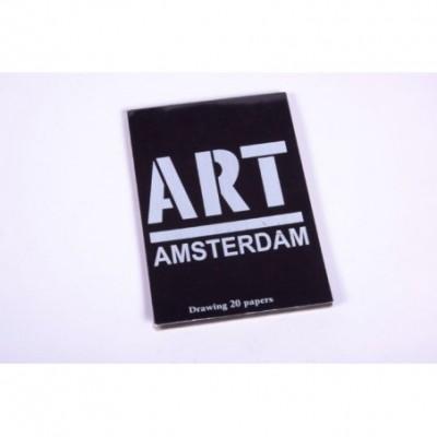 Block Amsterdam h/negras chico emblocado 130gr