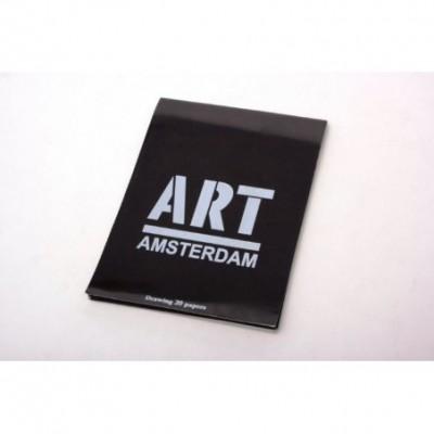 Block Amsterdam h/negras mediano emblocado 130gr