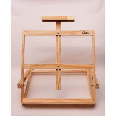 Atril de pintor vertical de mesa pino sin lustrar (grande) Fime