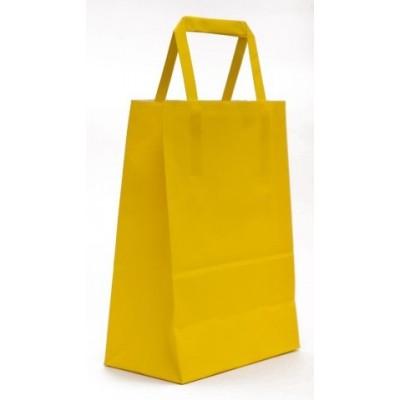 Bolsa regalo acuario Amarillo 14x8x20cm Romi Pack