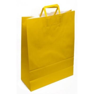 Bolsa regalo acuario Amarillo 36x15x48cm Romi Pack