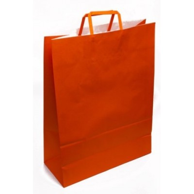 Bolsa regalo acuario Naranja 36x15x48cm Romi Pack