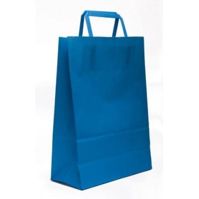 Bolsa regalo acuario Azul 22x10x30cm Romi Pack