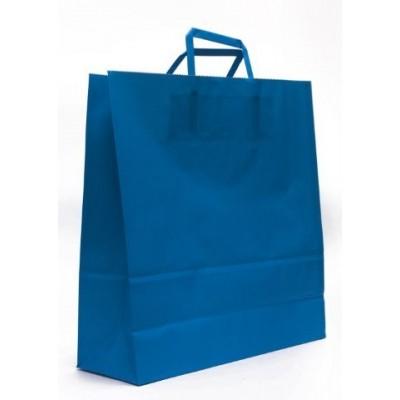 Bolsa regalo acuario Azul 30x12x41cm Romi Pack