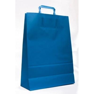 Bolsa regalo acuario Azul 31x11x33cm Romi Pack