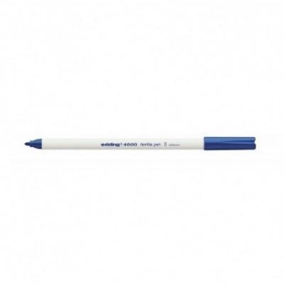 Marcador para Tela Art 4600 (03) AZUL punta fina 1 mm Edding
