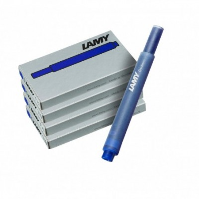 Cartuchos T10 AZUL x5 unidades Lamy