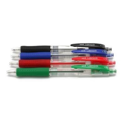 Boligrafo Sn 100 0,7 mm verde Uni-ball