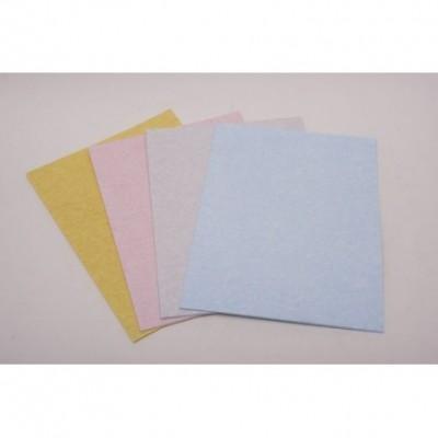 papel 90 grs A4 paq x 25 Apergaminado Rosa