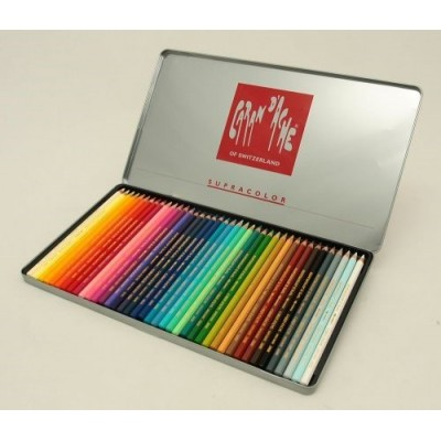 Lapiz supracolor lata x 40 colores CD'A