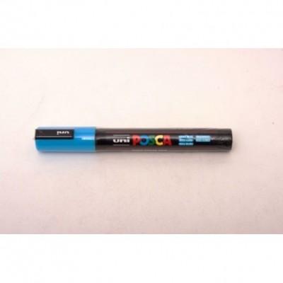 Marcador Posca PC-5M Azul Claro/Celeste (0320) Uni-ball